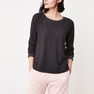Roots-Women New Arrivals-Louise Top-Black-A