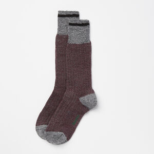 Roots-Women Socks-Womens Cabin Sock 3 Pack-Cabernet-A