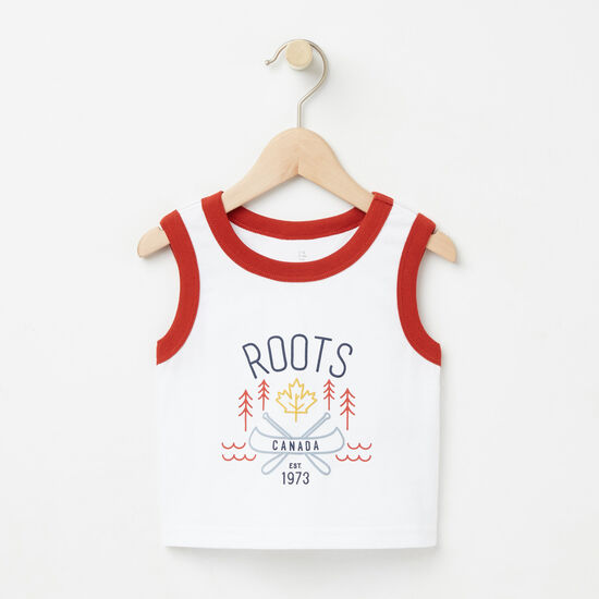 Roots-Sale Baby-Baby Knox Sleeveless Top-White-A