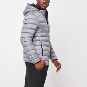 Roots-Men Jackets-Roots Packable Down Jacket-Salt & Pepper-A