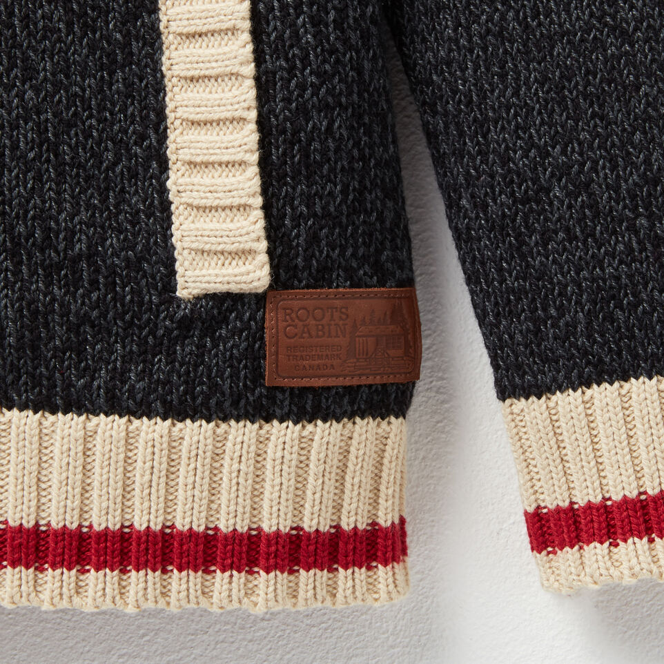 Roots-undefined-Boys Roots Cabin Shawl Cardigan-undefined-D