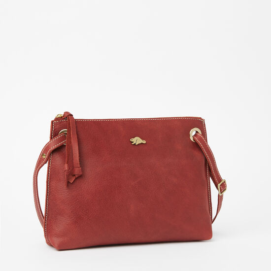 Roots-Leather Crossbody-Edie Bag Tribe-Paprika-A