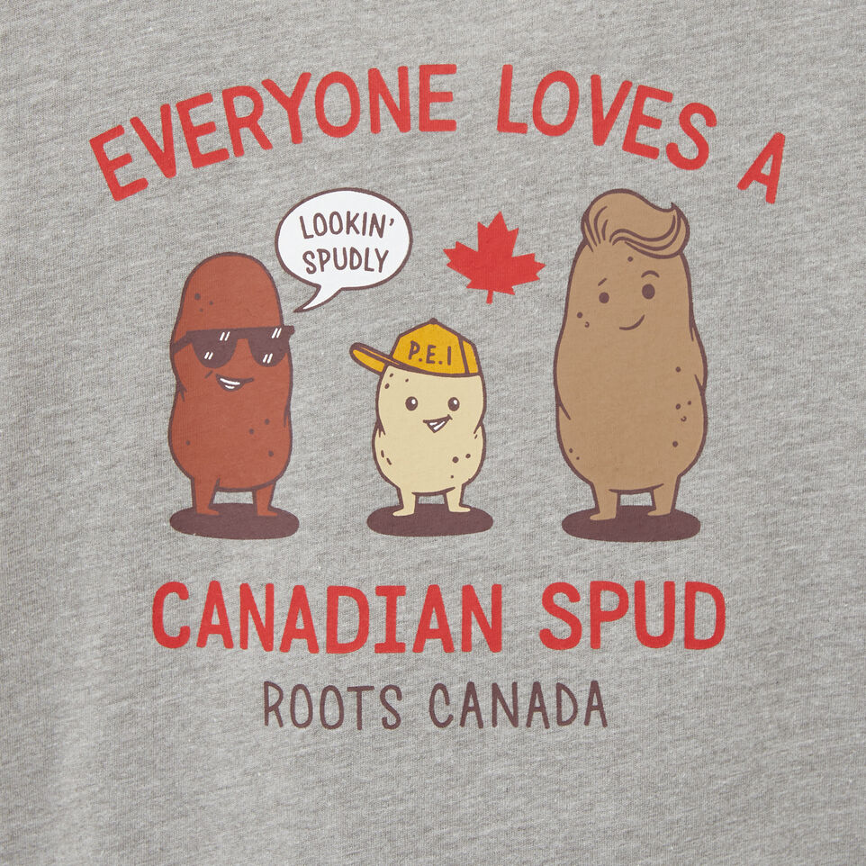 Roots-undefined-Tout-Petits T-shirt Canadian Spud-undefined-C