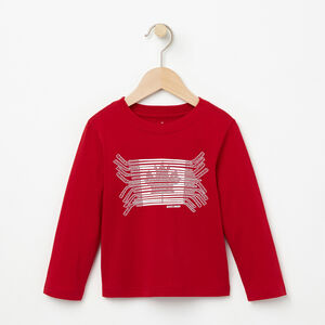 Roots-Kids Toddler Boys-Toddler Harrison Long Sleeve T-shirt-Lodge Red-A