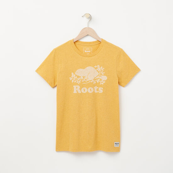 Roots-Women Graphic T-shirts-Layla Cooper T-shirt-Golden Days Mix-A