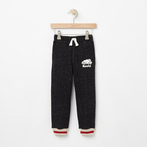Roots-Kids Bottoms-Toddler Roots Cabin Sweatpant-Black Pepper-A