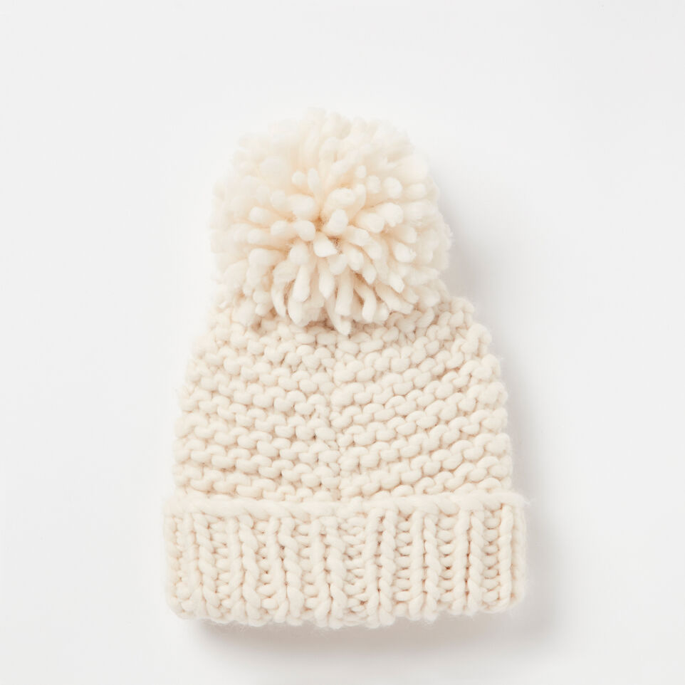 Roots-undefined-Delanie Chunky Pom Pom Toque-undefined-C