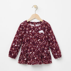 Roots-Kids Tops-Toddler Aster Top-Rhododendron-A