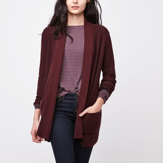 Roots-Women Sweaters & Cardigans-Terra Cardigan-Crimson-A