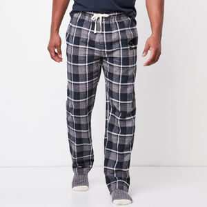 Roots-Men Plaids-Mens Lounge Pant-Salt & Pepper-A