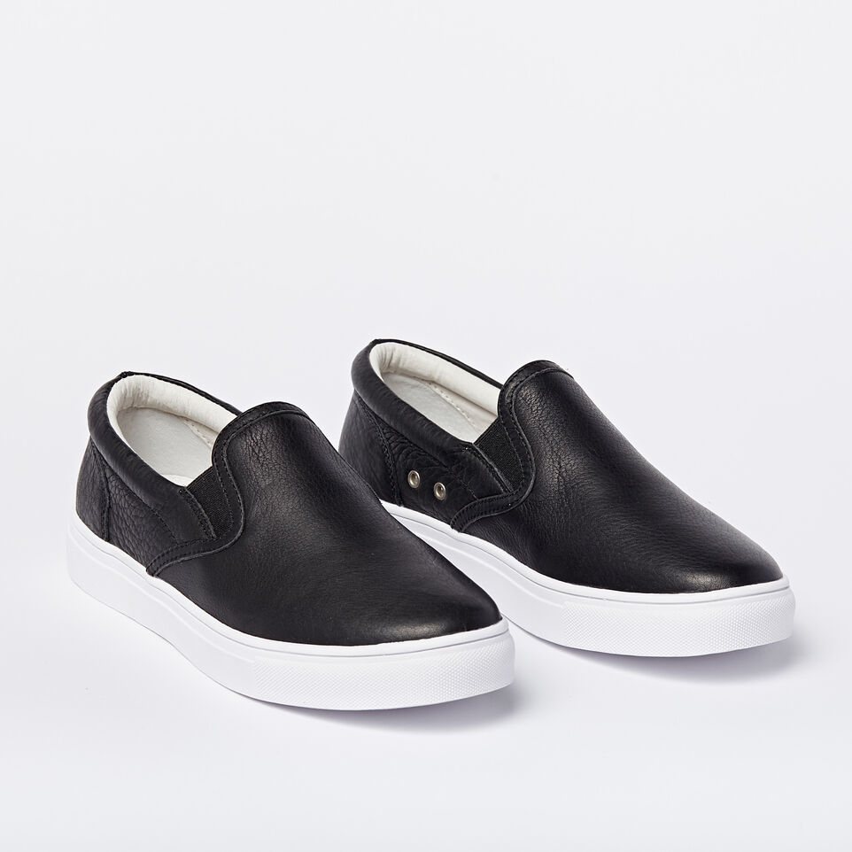 Roots-undefined-Mens Slip On Leather Sneaker-undefined-B