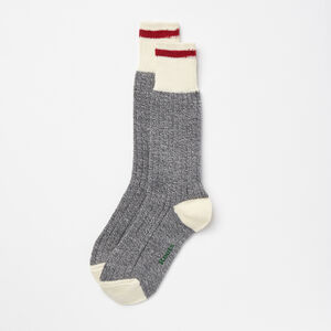 Roots-Women Socks-Womens Cabin Sock 3 Pack-Grey Mix-A