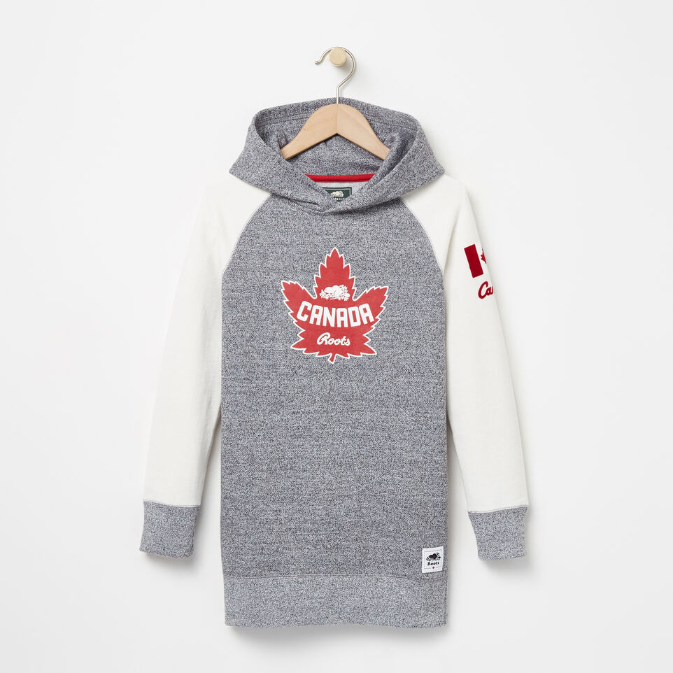 Roots-undefined-Girls Heritage Canada Hooded Tunic-undefined-A