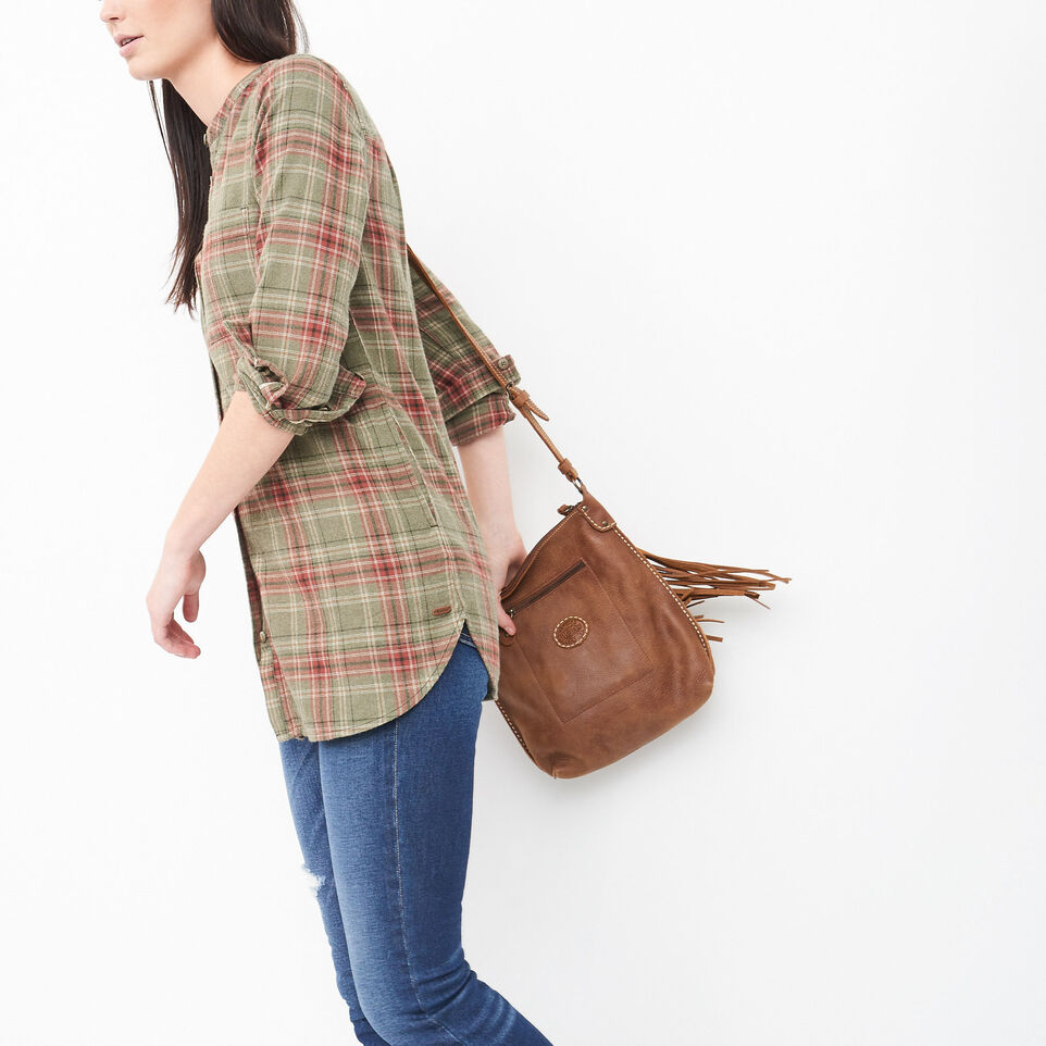 Roots-undefined-Tisdale Flannel Tunic-undefined-B