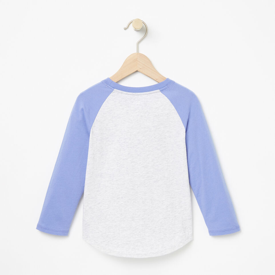 Roots-undefined-Toddler Watercolour Baseball Top-undefined-B