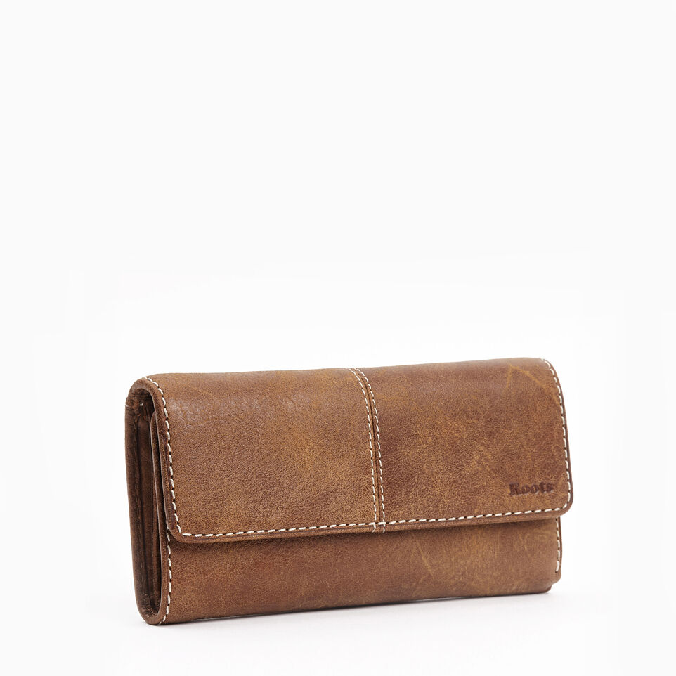 Roots-undefined-Med Trifold Clutch Tribe-undefined-D