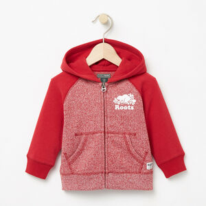 Roots-Sale Baby-Baby Original Full Zip Hoody-Lodge Red Pepper-A