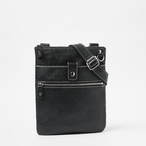 Roots-Leather Roots Original Flat Bags-Small Venetian Prince-Black-A