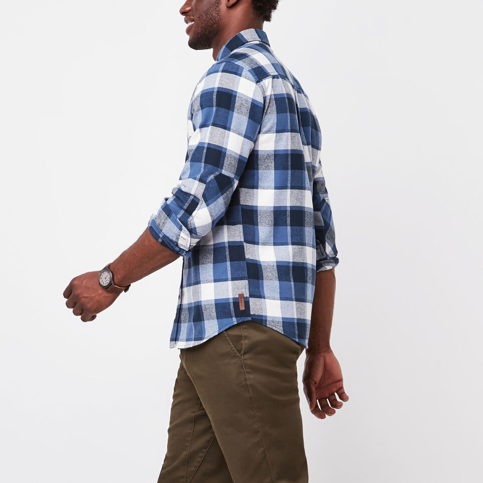 Roots-undefined-Stoney Point Flannel Shirt-undefined-B