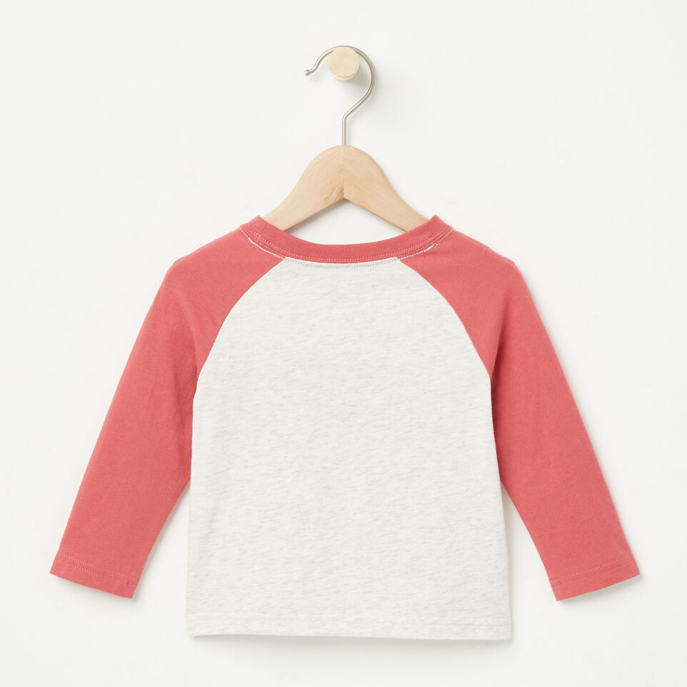 Roots-undefined-Baby Contrast Cooper Beaver T-shirt-undefined-B
