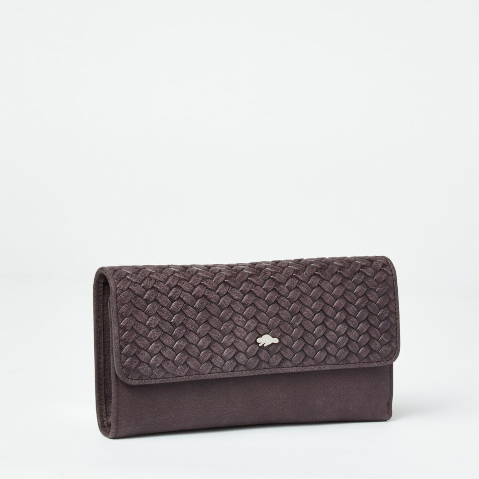 Roots-undefined-Medium Trifold Wallet Woven-undefined-D
