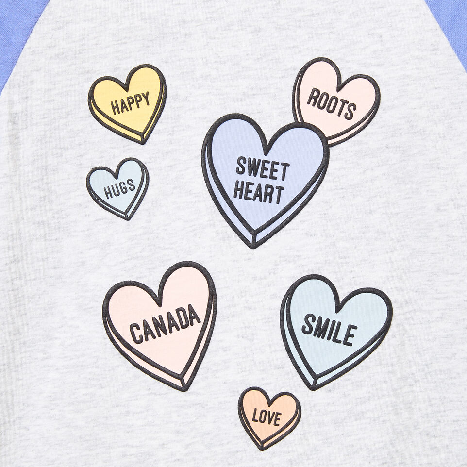 Roots-undefined-Toddler Watercolour Baseball Top-undefined-C