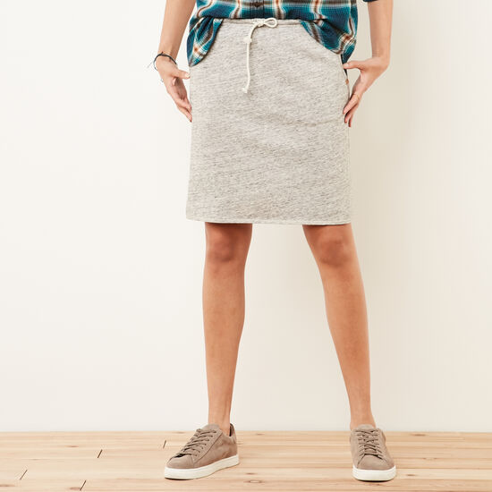 Roots-Women Features-Northway Skirt-Grey Mix-A