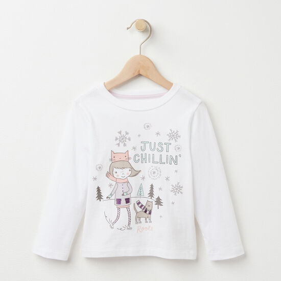 Toddler Little Loxley Chillin' T-shirt
