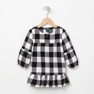 Roots-Kids Tops-Baby Algonquin Dress-Cloudy White-A