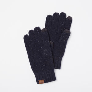 Roots-Gifts Bundle Up Accessories-Mens Donegal Texting Glove-Navy Blazer-A