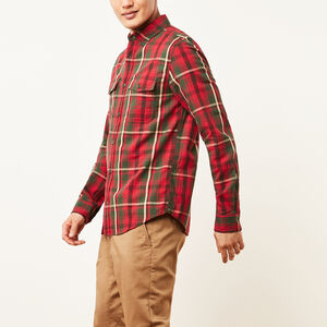 Roots-Sale Men-Riverside Plaid Shirt-Mountain View Green-A