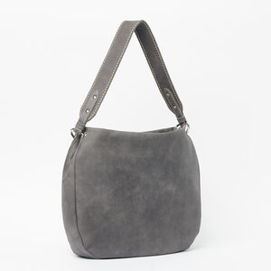 Roots-Leather Bestsellers-The Dakota Bag Tribe-Charcoal-A