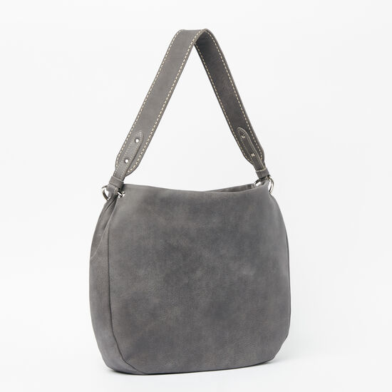 Roots-Leather New Arrivals-The Dakota Bag Tribe-Charcoal-A
