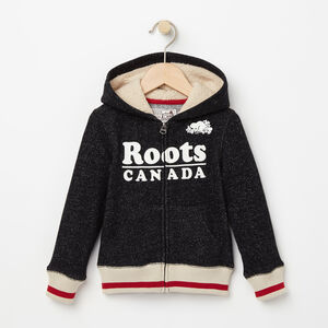 Roots-Kids Toddler Boys-Toddler Roots Cabin Full Zip Hoody-Black Pepper-A
