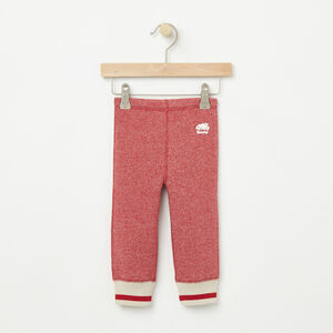 Roots-Kids Baby Girl-Baby Roots Cabin Cozy Fleece Legging-Lodge Red Pepper-A