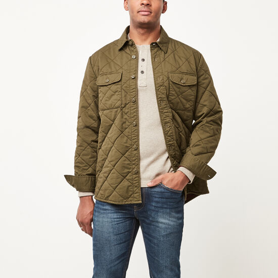 Lockport Quilted Shacket