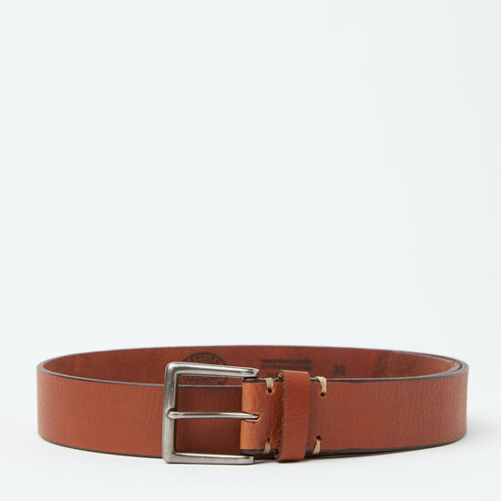 Roots-Men Belts-Don Belt-Tan-A