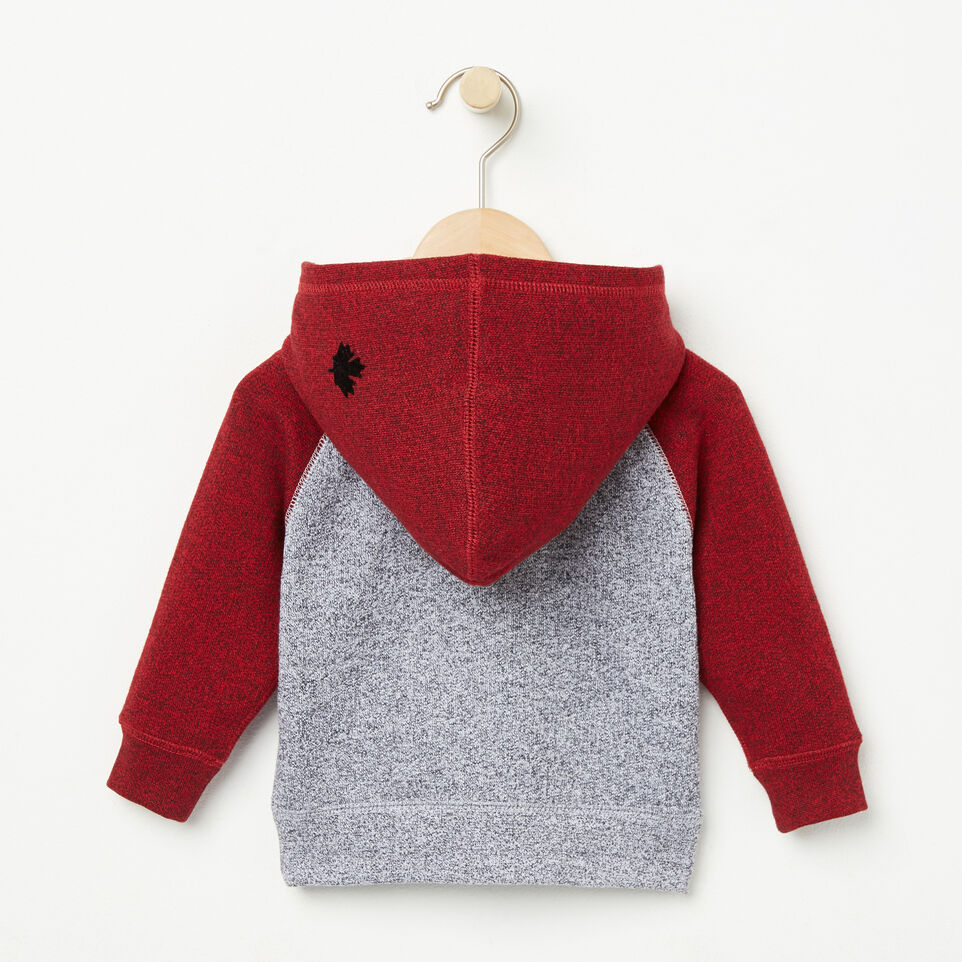 Roots-undefined-Baby Contrast Full Zip Hoody-undefined-B