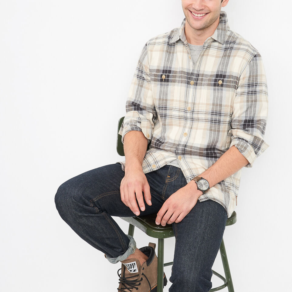 Roots-undefined-Mackinaw Flannel Shirt-undefined-A