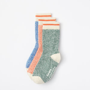 Roots-Kids Baby Boy-Baby & Toddler Cabin Sock 3 Pack-Verdant Green-A