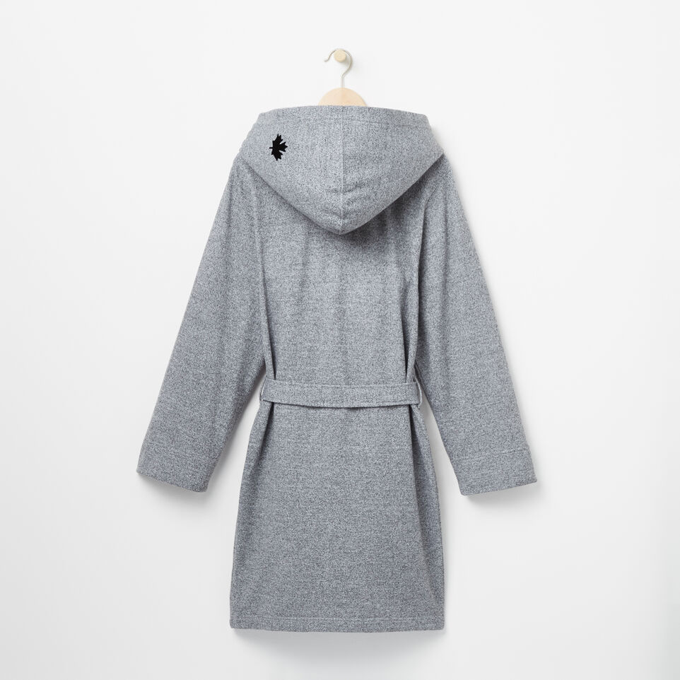Roots-undefined-Roots Salt And Pepper Hooded Robe-undefined-D