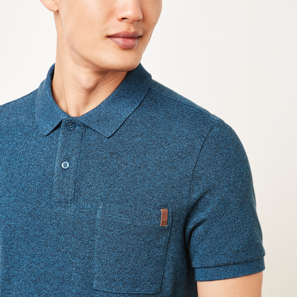 Roots-undefined-Heritage Peppered Polo-undefined-C