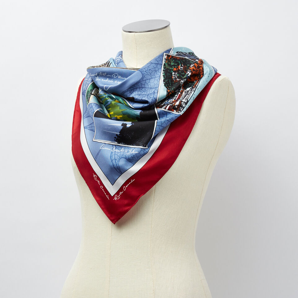 Roots-undefined-Foulard Paysage Souvenir-undefined-B