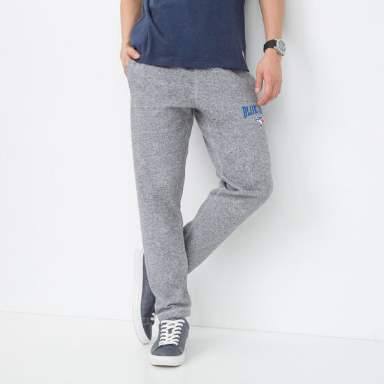 Roots-Men Toronto Blue Jays™-Mens Blue Jays Stadium Sweatpant-Salt & Pepper-A
