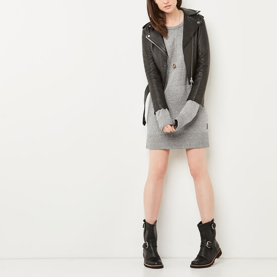 Cozy Fleece Dress