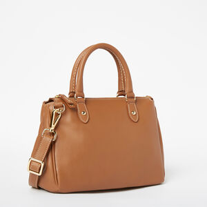 Roots-Leather Crossbody-Little Gracie Bag Bridle-Tan-A