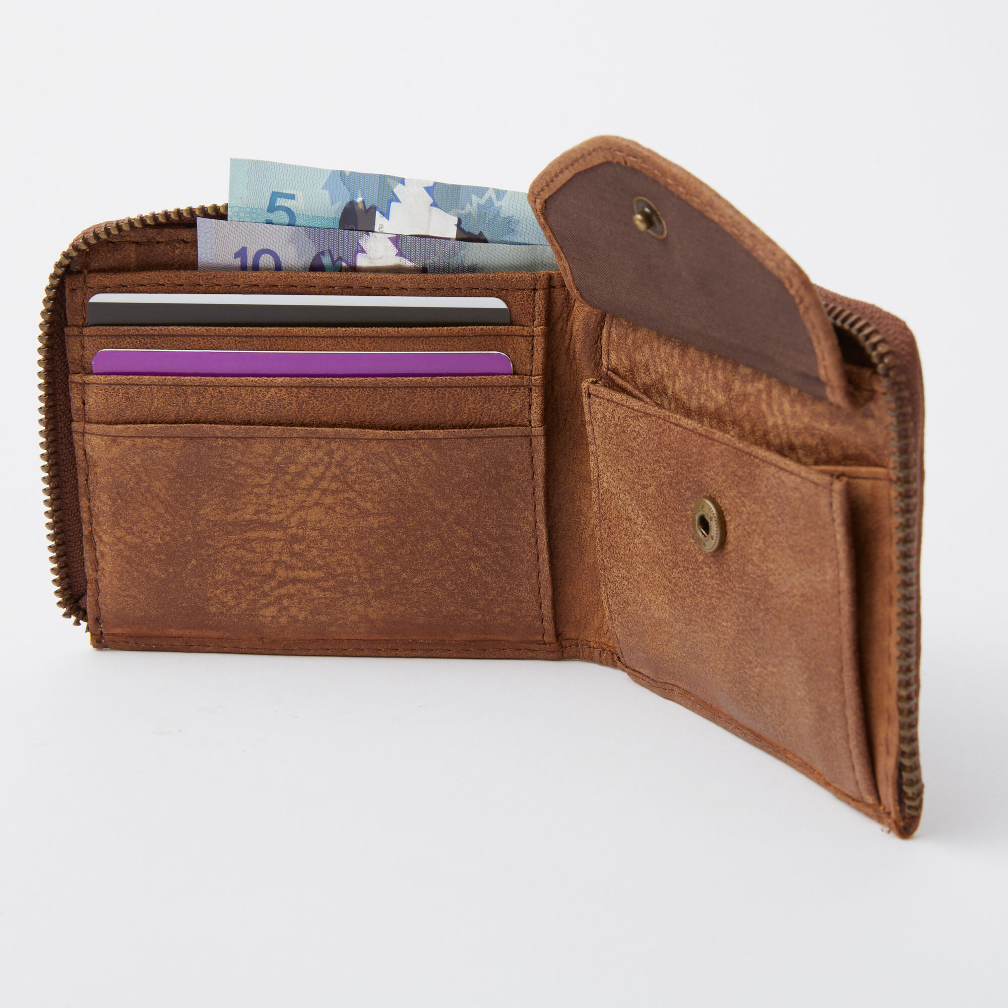 Mens Half Zip Wallet Tribe