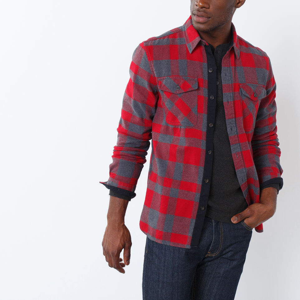 Roots-undefined-Trailblazer Flannel Shirt-undefined-A