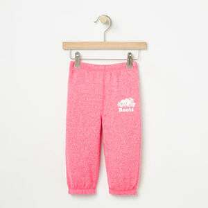 Roots-Kids Bottoms-Baby Roots Sweatpant-Pink Flambé Pepper-A