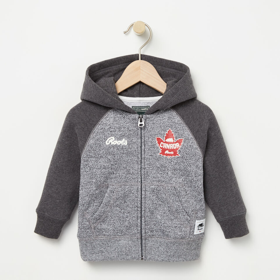 Roots-undefined-Baby Heritage Canada Full Zip Hoody-undefined-A